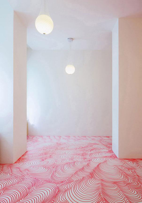 Mesmerizing Marker Installations by Heike Weber