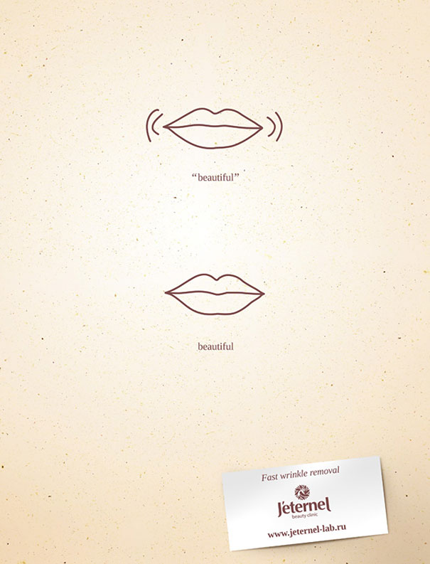 26 Brilliant Minimalist Print Ads Bored Panda