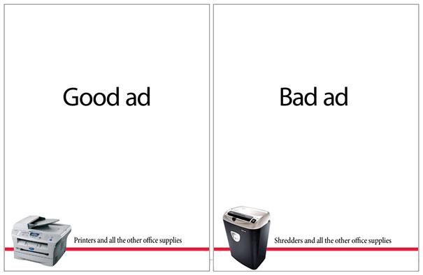 26 Brilliant Minimalist Print Ads | Bored Panda