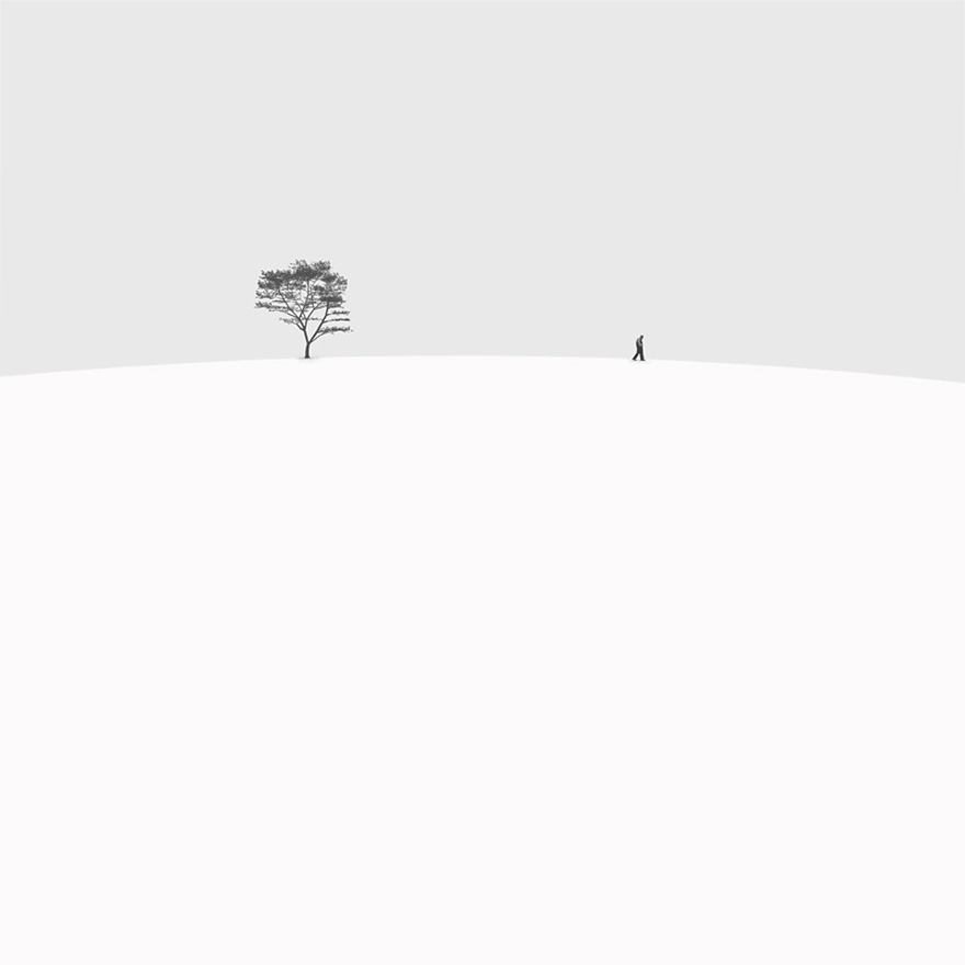 Minimalist black and white photography by hossein zare for Art minimaliste artiste