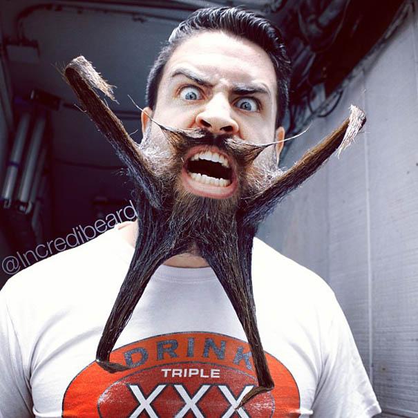 Craziest beard designs