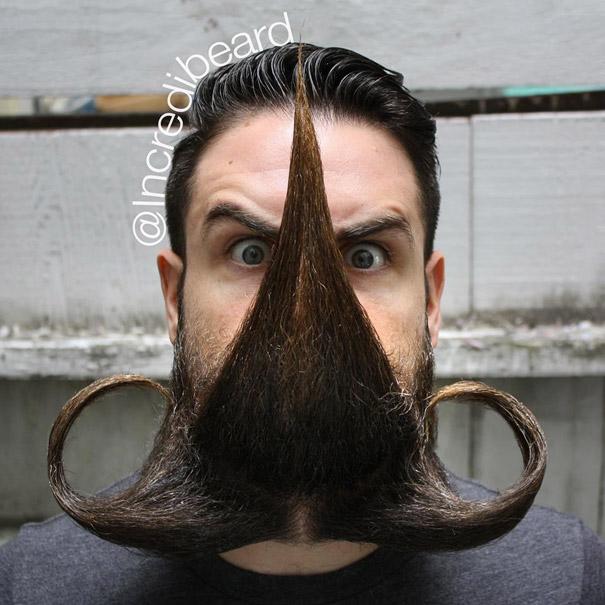 Mr. Incredibeard: Guy With A Thousand Beards Becomes Internet Celebrity |  Bored Panda
