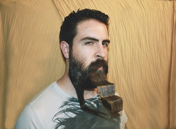 Awesome Mr Incredibeard Guy With A Thousand Beards Becomes Internet Short Hairstyles Gunalazisus