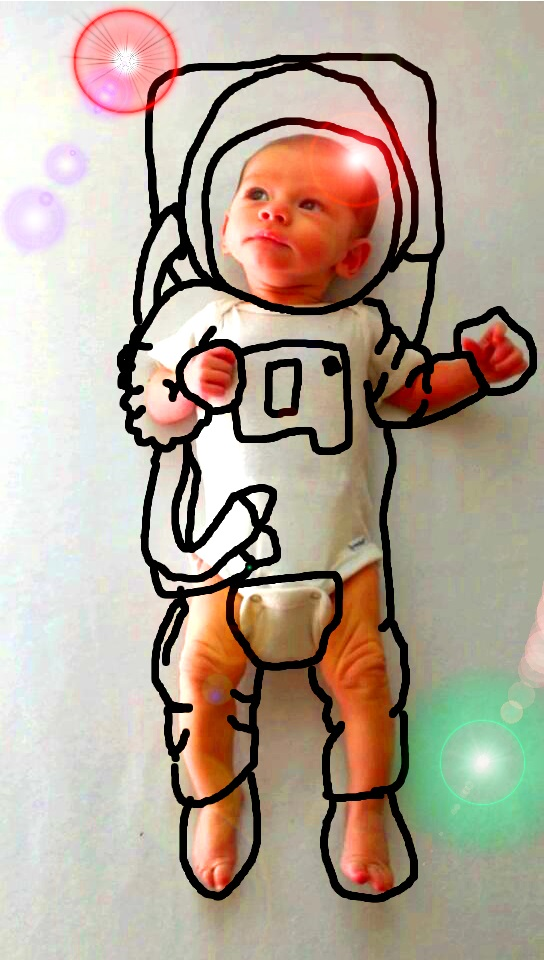Creative Mother Turns Her Son's Baby Pics Into Cute Imaginary Adventures