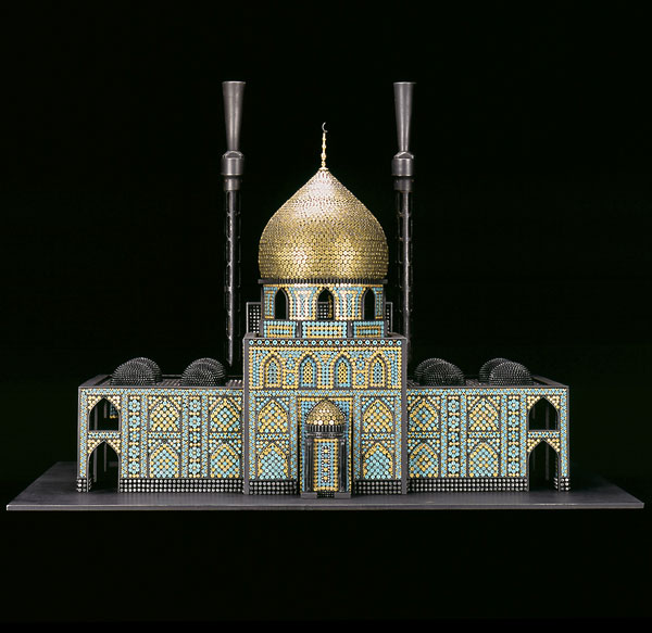 Religious Sites Made of Guns and Ammunition