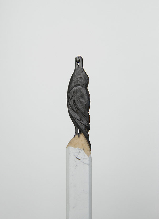 Incredible Pencil Tip Sculptures by Diem Chau