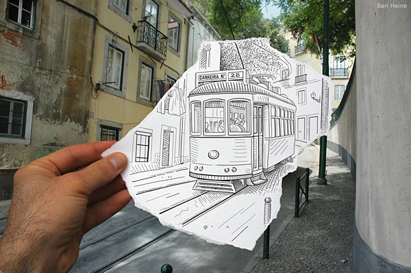 Pencil versus Camera by Ben Heine | Bored Panda