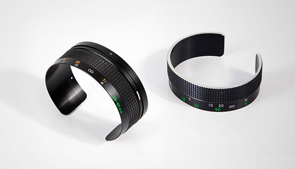 1 Recycled Camera Focus Lens Cuff