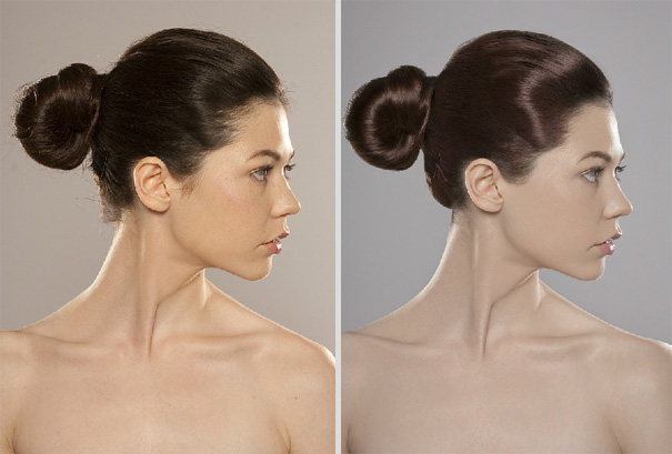 Celebrities Photoshopped: Before and After - World Of Female