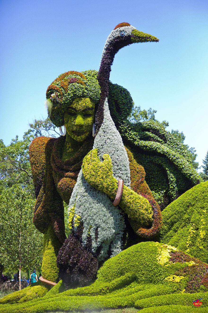 Superb Amazing Plant Sculptures At The Montreal Mosaiculture Exhibition 2013    Bored Panda