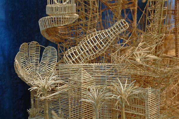 One Man 100 000 Toothpicks And 35 Years Amazing Kinetic