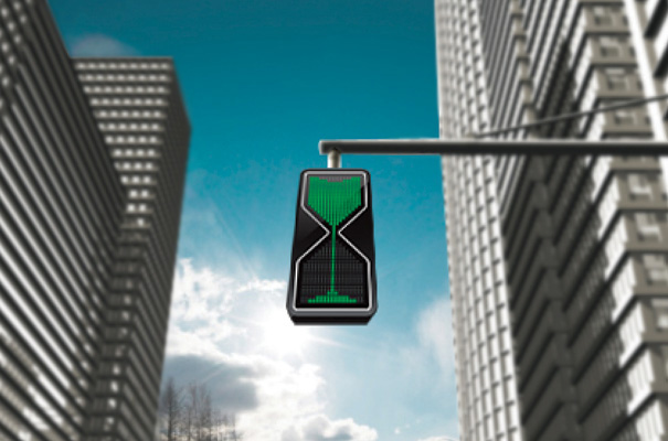 Hour Glass LED Traffic Lights