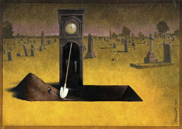 Thought Provoking Satirical Illustrations By Pawel Kuczynski