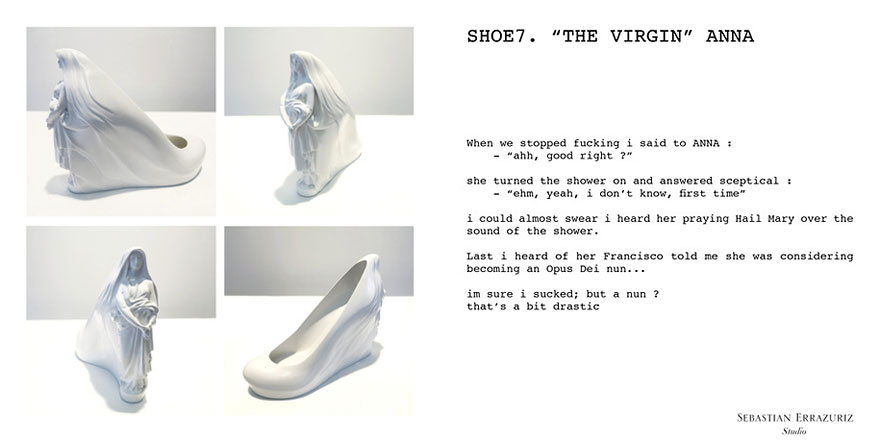 054c5250aed Artist Creates 12 Shoes For 12 Ex Lovers