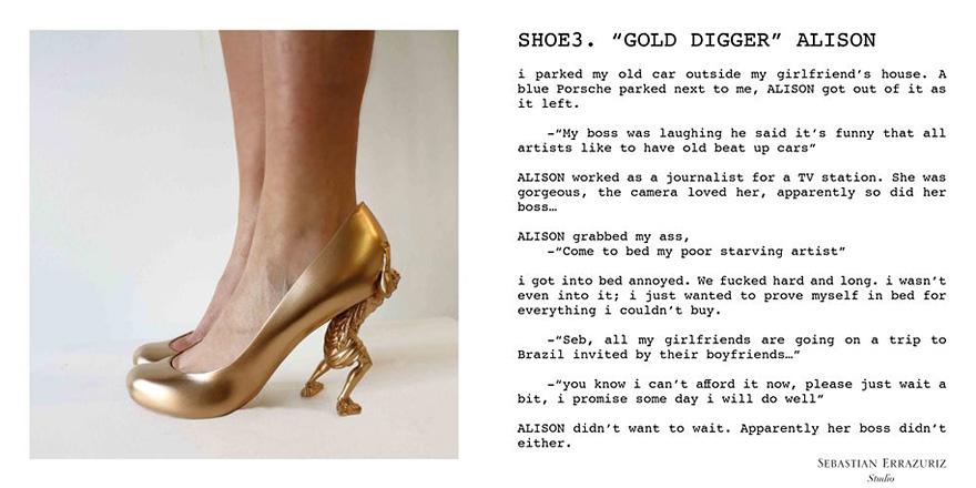 Sebastian vintage designer high heel pumps