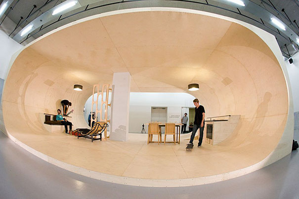 World's First Skateboard House