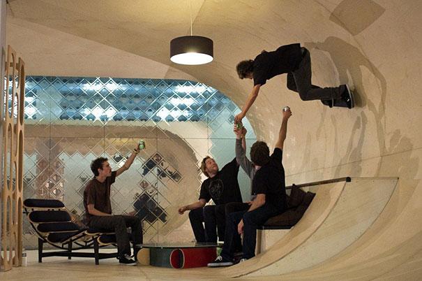 Skateboarding and House on Pinterest