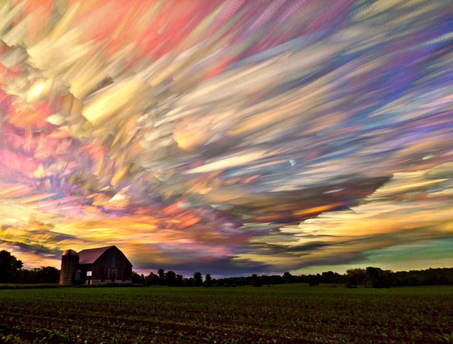 Mind-Blowing Smeared Sky Photography by Matt Molloy