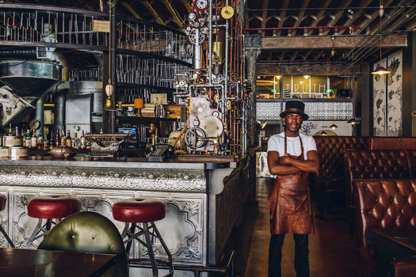 Awesome Steampunk Interior Design At Truth Cafe In South Africa