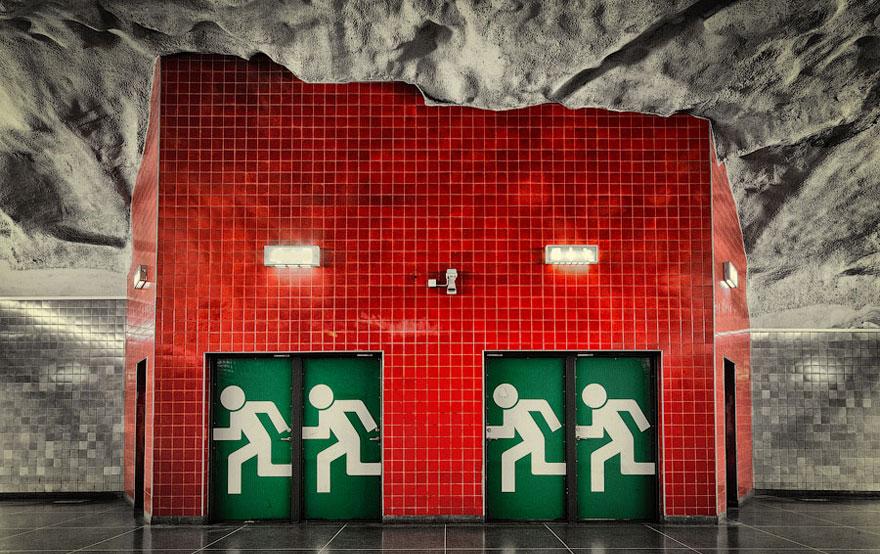 Stunning Underground Art In Stockholm S Metro Station