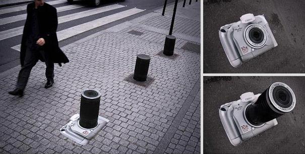 20 cool and creative street ads bored panda. Black Bedroom Furniture Sets. Home Design Ideas