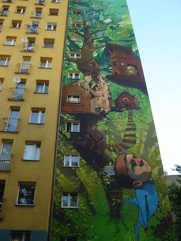 30 amazing large scale street art murals from around the