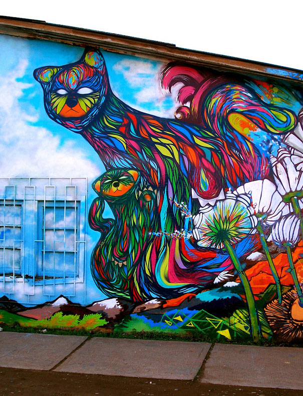 Examples Of Mural Painting Of 70 Amazing Examples Of Street Art Bored Panda