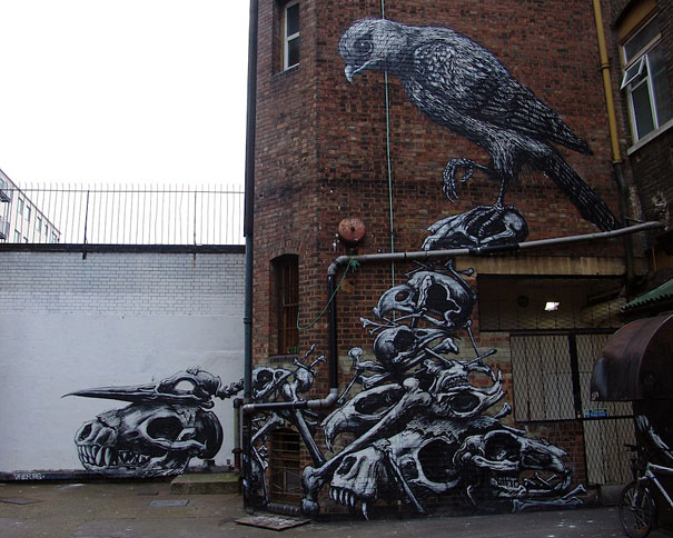 Amazing Examples Of Street Art Bored Panda - 21 amazing examples of graffiti