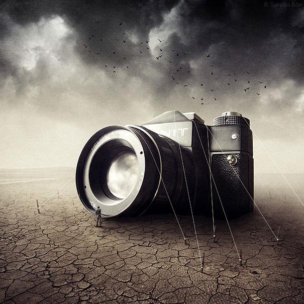 21 New Photo Manipulations by Sarolta Ban