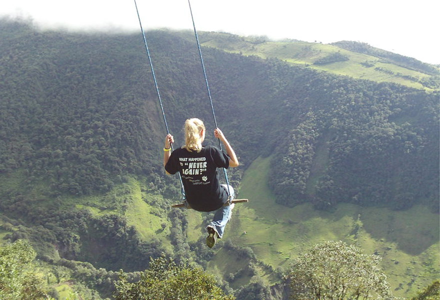The Swing At The End Of The World Lets You Swing 2 600