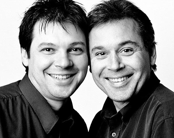 عکس انسان هایی که همزاد همدیگرند,دوقلوهای غریبه
