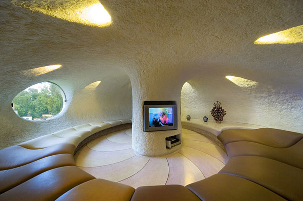 inspired by the work of gaudi and frank lloyd wright a young family with two kids in mexico city had a seashell shaped house built for them read more - Smallest House In The World 2016