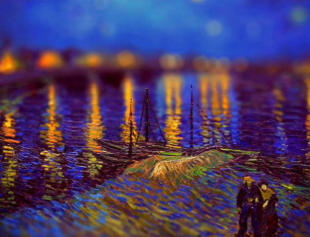 16 Van Gogh's Paintings Get Tilt-Shifted | Bored Panda - photo#39