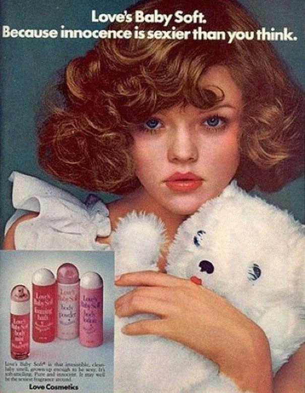 the perversion of innocence in a vintage advertisement for love cosmetics baby soft products Buymebeautycom offers the largest selection of discontinued revlon makeup revlon soft on the eyes sheer you'll love our clearance prices and selection.