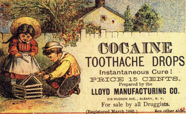 5 cocaine toothache drops