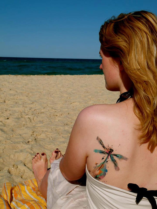 25 Examples Of Artistic Watercolor Tattoos