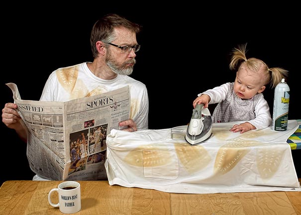 World's Best Father: Dave Engledow with Daughter Alice Bee ...