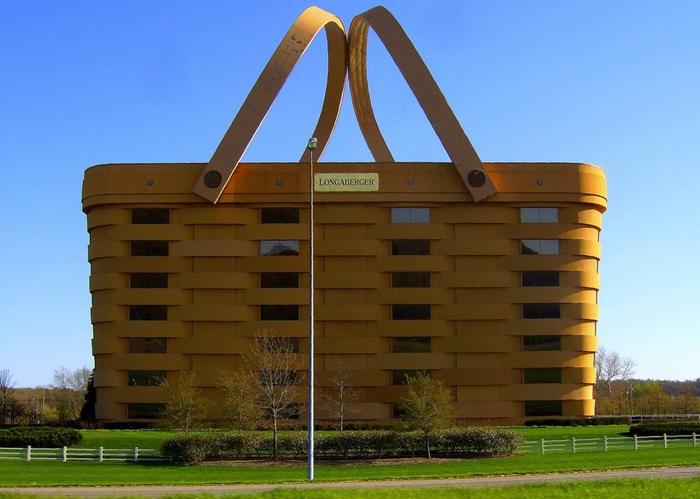 The Basket Building, Ohio, USA