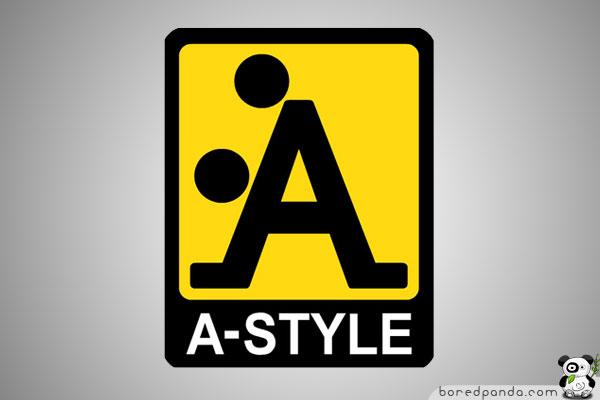 A-Style Logo  10 Funny Company Logos